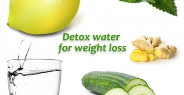 detox water for weight loss - flat tummy water - beautyikon